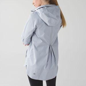 🔥 HOST PICK Lululemon Fo Drizzle Jacket Silver